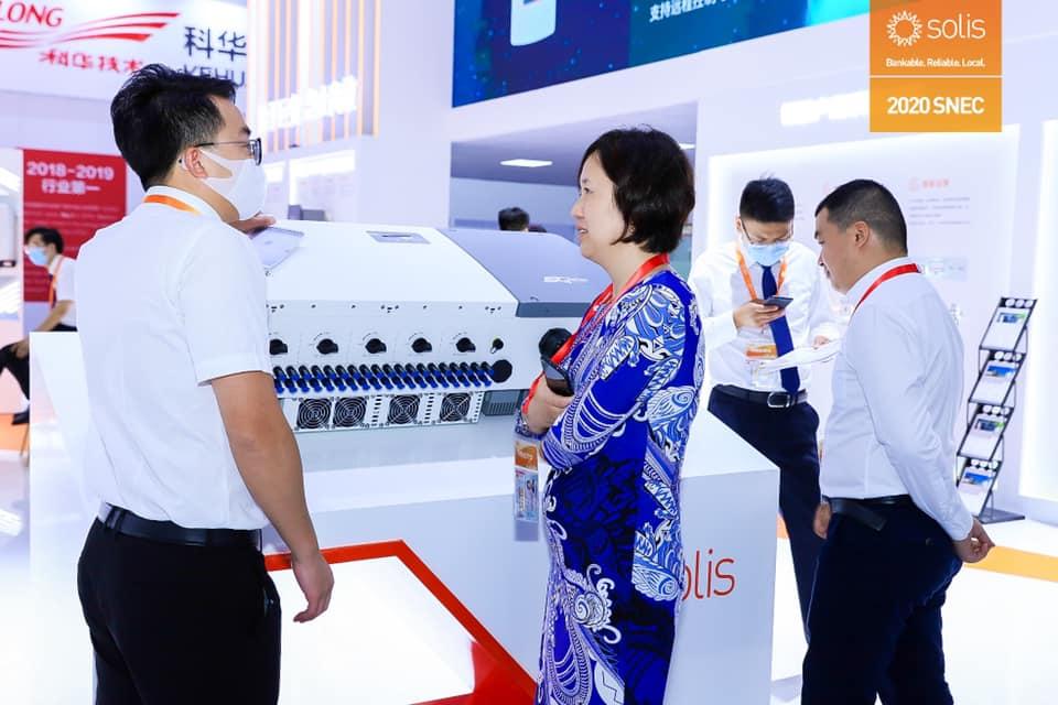 Ginlong Solis: innovaciones en Feria Solar SNEC 2020