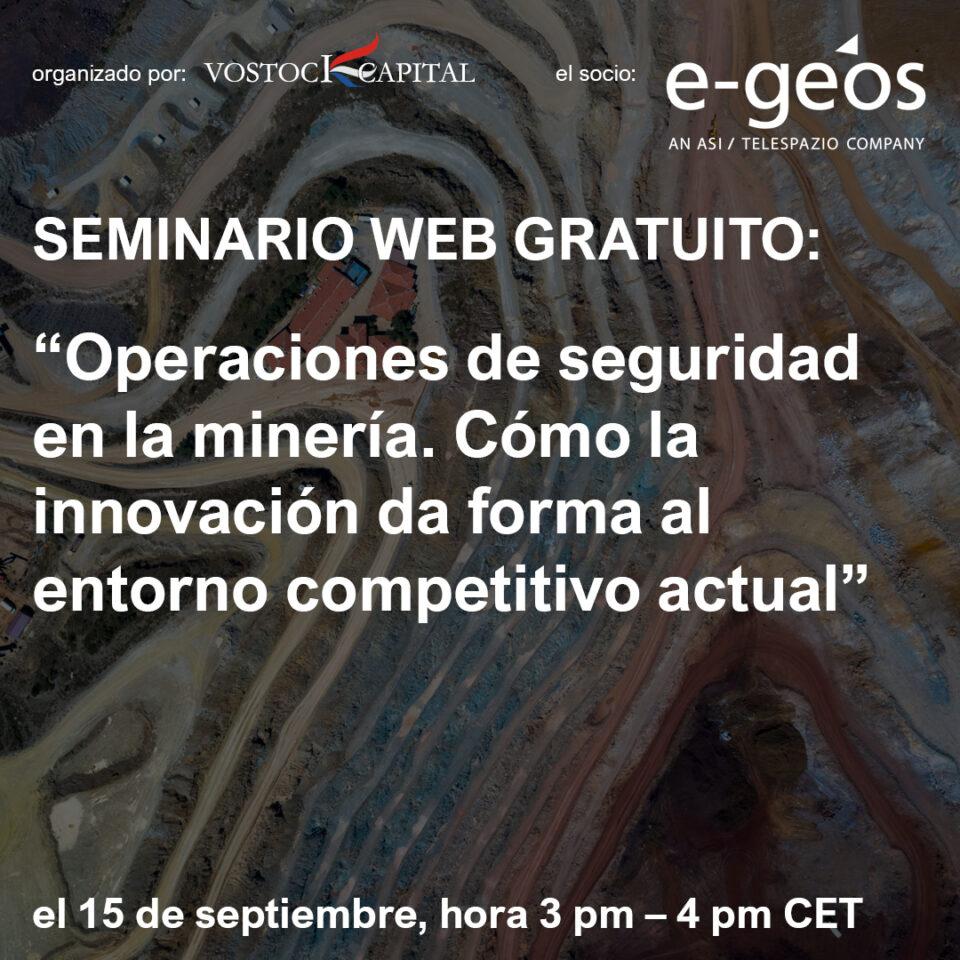 Efectividad y operaciones de seguridad en la minería. Cómo la innovación da forma al entorno competitivo actual