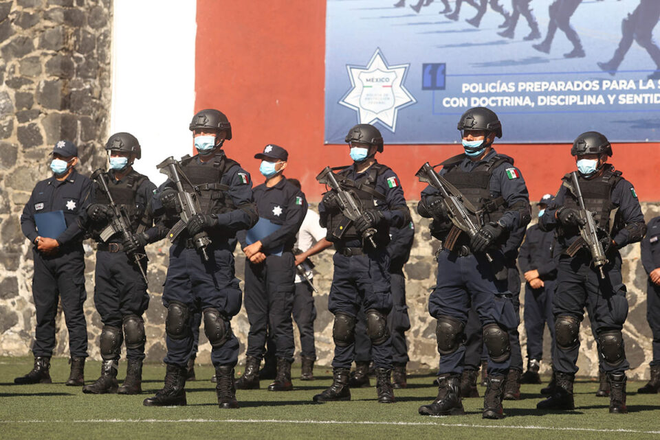 El Gobierno México desplegó el domingo un centenar de elementos de seguridad en un importante complejo minero al norte del país