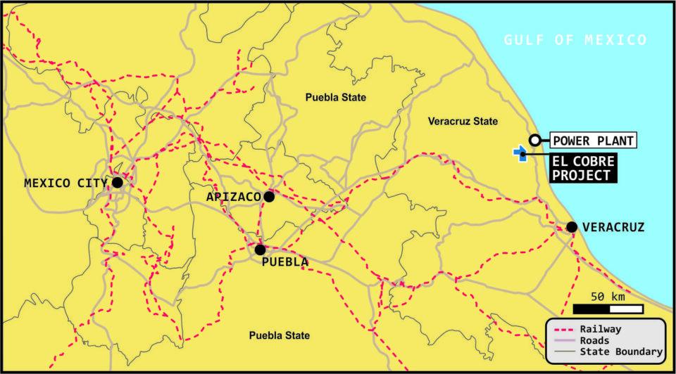 Azucar Minerals reanuda proyecto de El Cobre en Veracruz