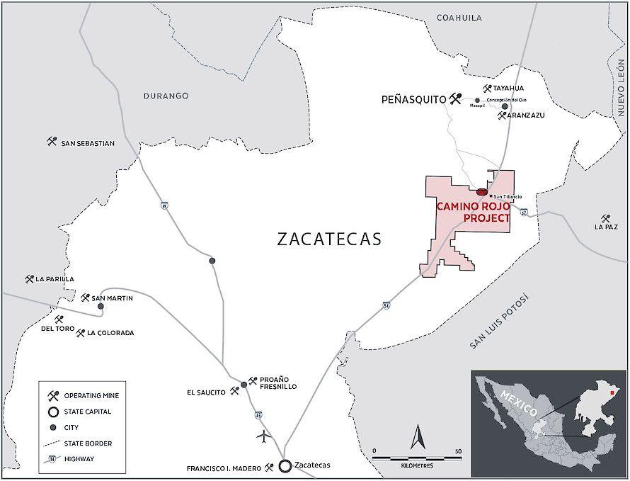 Orla Mining alista producción en proyecto Camino Rojo en Zacatecas