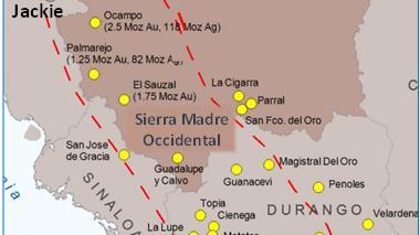 Silver Spruce adquiere 50% de proyecto Jackie Gold en Sonora