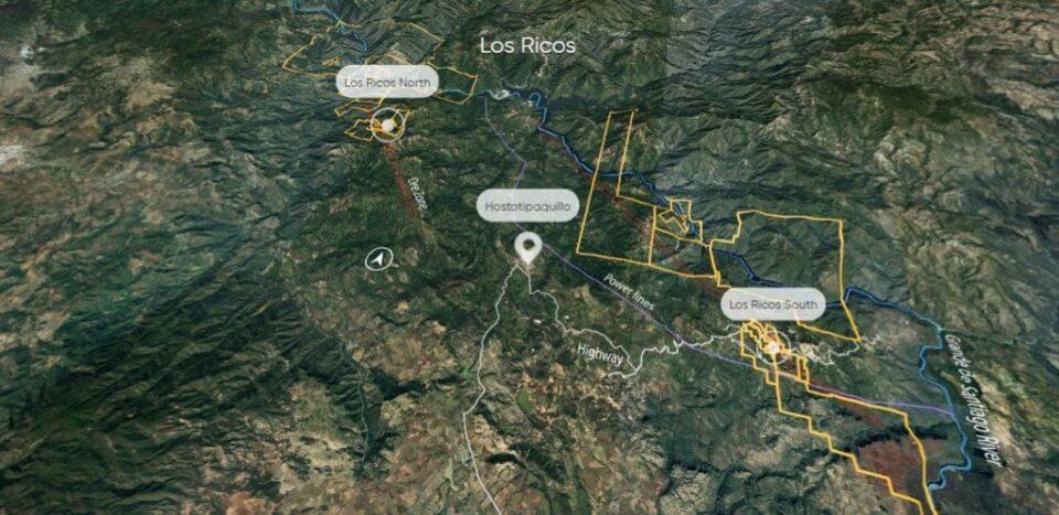 GoGold Resources estima producción de 6.33 mdoz de plata en proyecto Los Ricos South