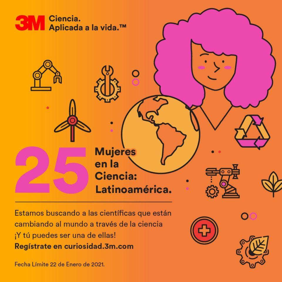 25 Mujeres en la Ciencia, iniciativa de 3M