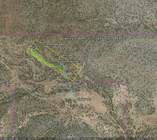 Mexus actualiza meta de producción de oro en mina Santa Elena en Sinaloa