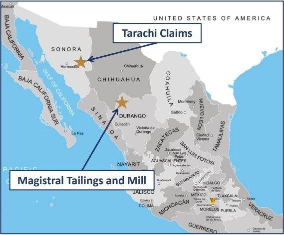 Tarachi Gold compra proyecto de oro Magistral en Durango
