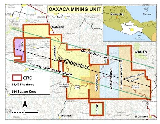 Gold Resource refuerza su estrategia en su proyecto El Águila en Oaxaca