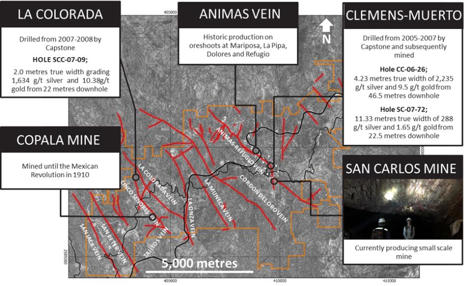 Vizsla Silver aumenta perforación en distrito Copala-Panuco en Sinaloa