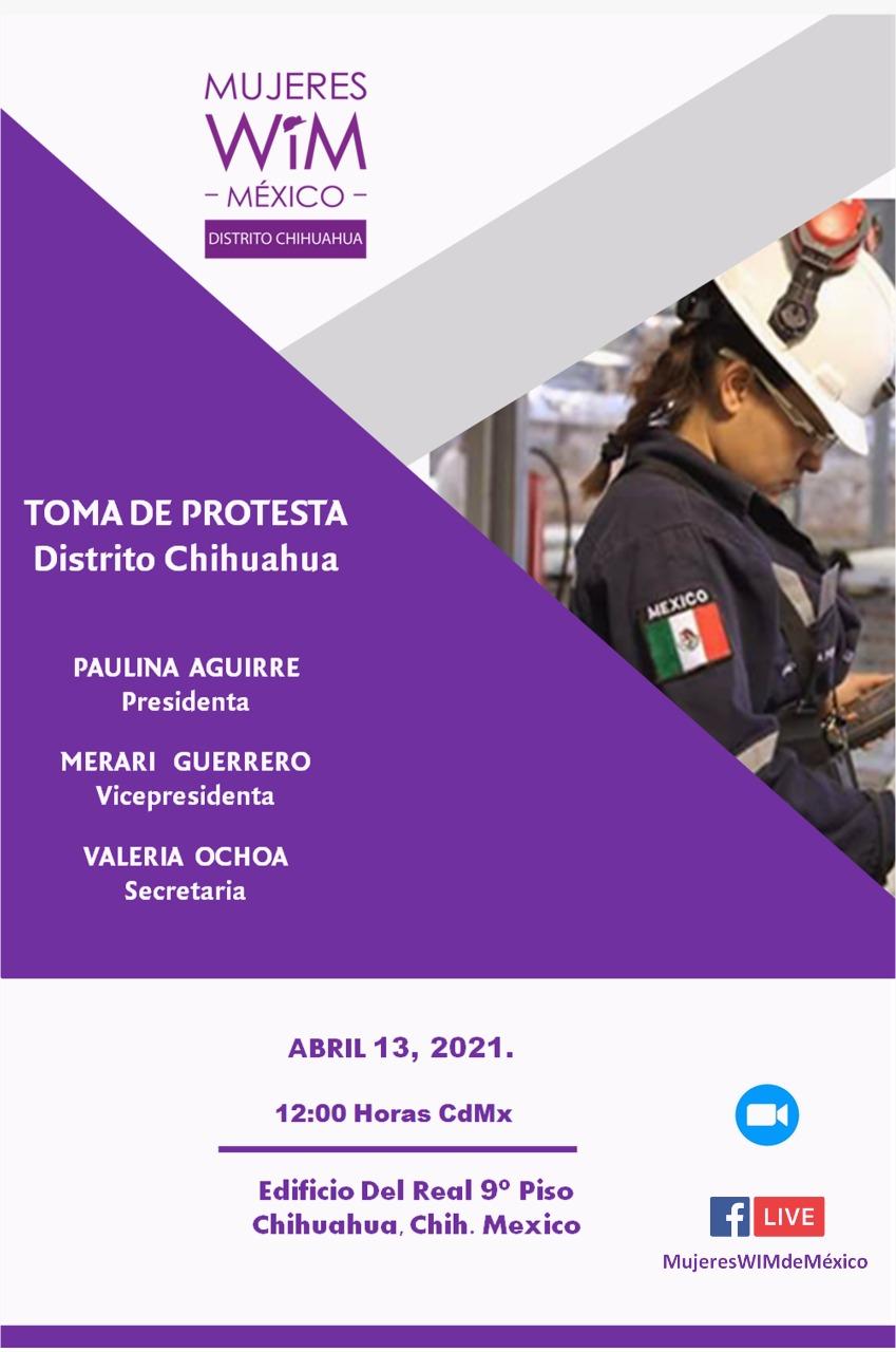 Mujeres WIM Distrito Chihuahua