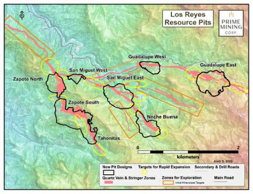 Prime Mining recauda 19 mdd para proyecto Los Reyes en Sinaloa