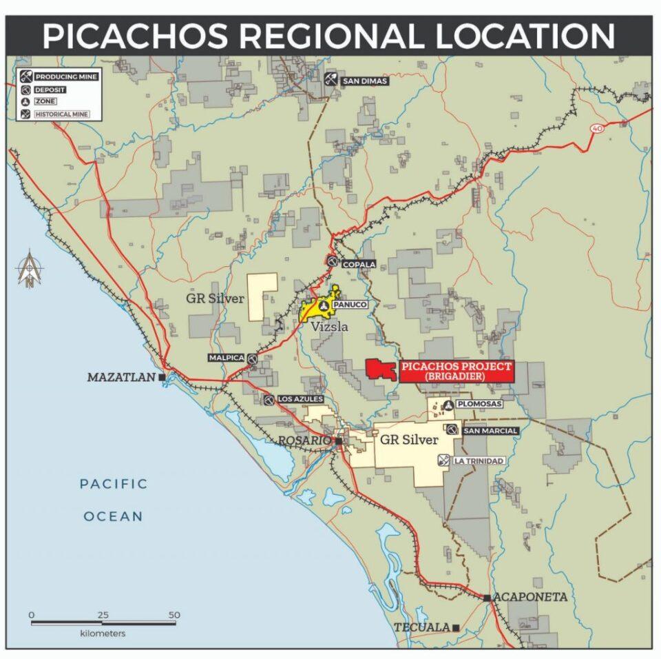 Brigadier Gold eleva expectativas en Picachos Sinaloa
