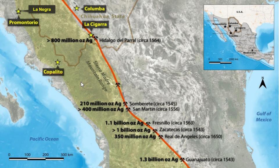 Kootenay eleva expectativas de proyecto de plata y oro en Sinaloa
