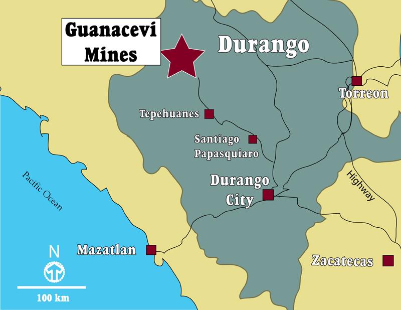 Endeavour descubre vetas de oro de alta ley en Durango