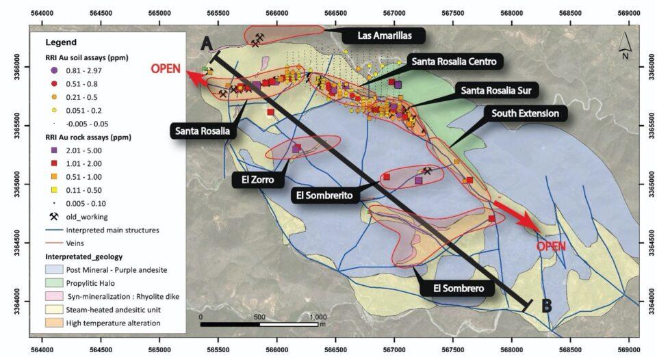 Riverside Resources recupera proyecto Los Cuarentas