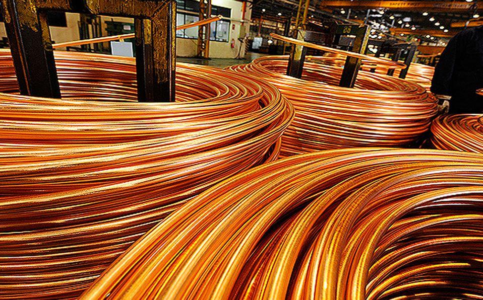 cobre, mineral con gran valor