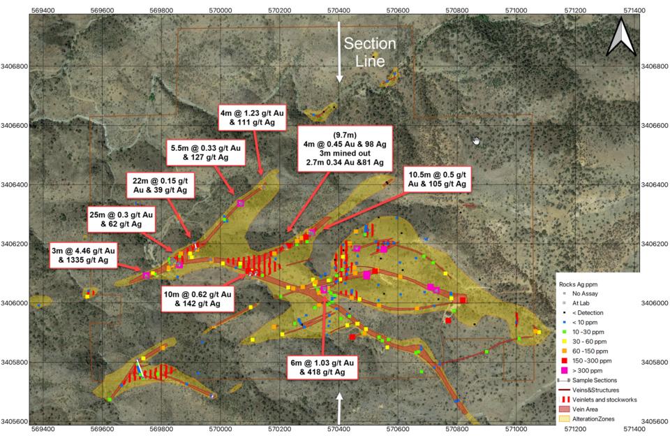 Radius Gold descubre vetas de oro y plata de alta ley en Sonora