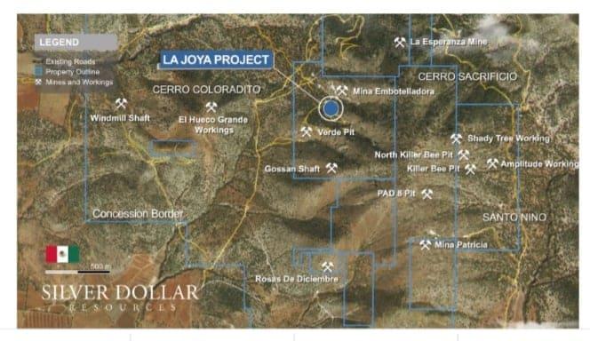 Silver Dollar inicia trabajo de campo en La Joya Durango