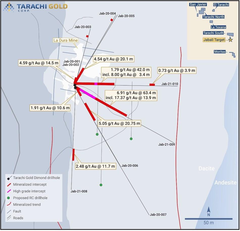 Tarachi Gold descubre nueva concentración de oro en Sonora