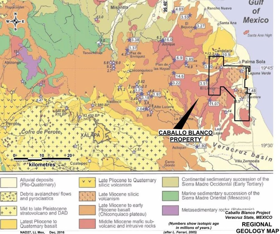 Candelaria Mining, cerca de explotar Caballo Blanco en México
