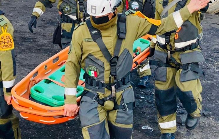 Rescatan cuarto cuerpo de minero en Coahuila
