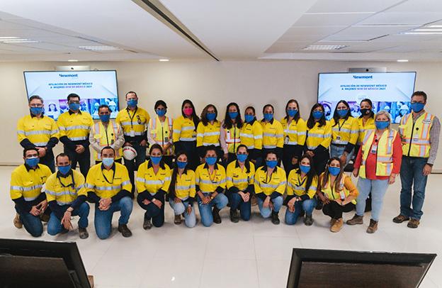 Newmont suma 160 mineras a Mujeres WIM México