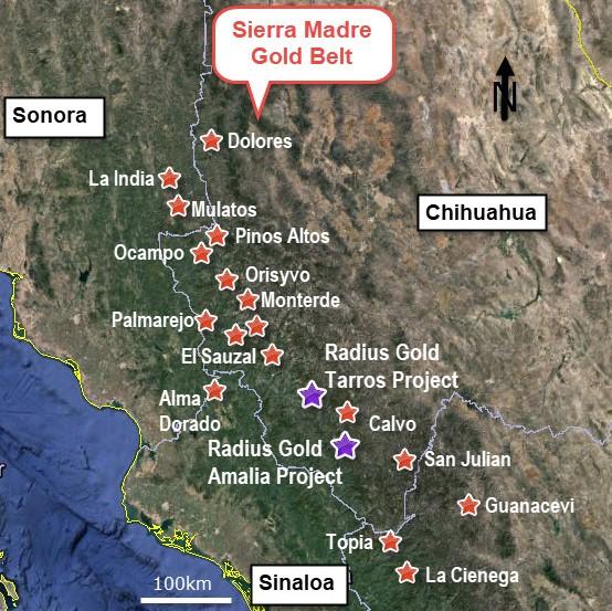 Radius Gold inicia fase 5 de perforación en Chihuahua