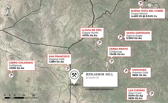 Benjamin Hill confirma nueva mineralización en Sonora Gold