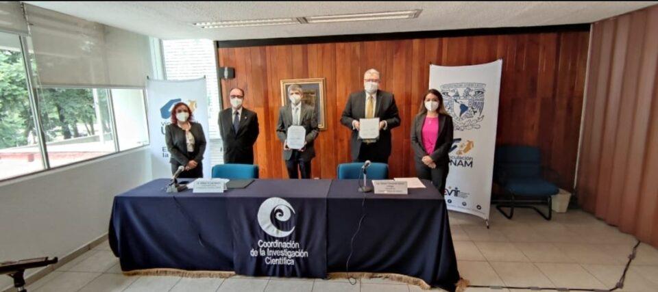 Camimex y UNAM firman convenio de colaboración