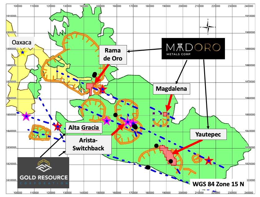 Madoro Metals recibe resultados positivos de 3 proyectos en Oaxaca