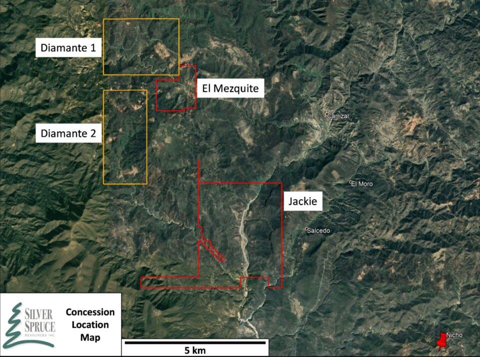 Colibri Resource y Silver Spruce elevan expectativa de El Mezquite