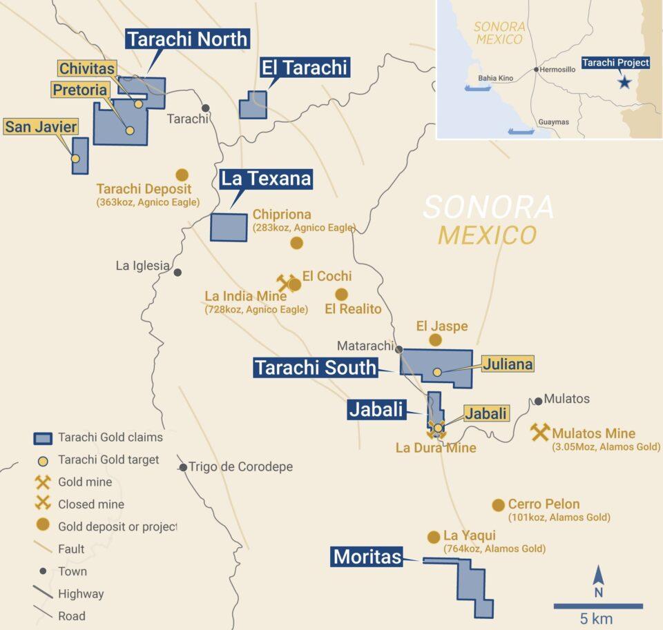 Tarachi Gold anuncia resultados positivos en Sonora