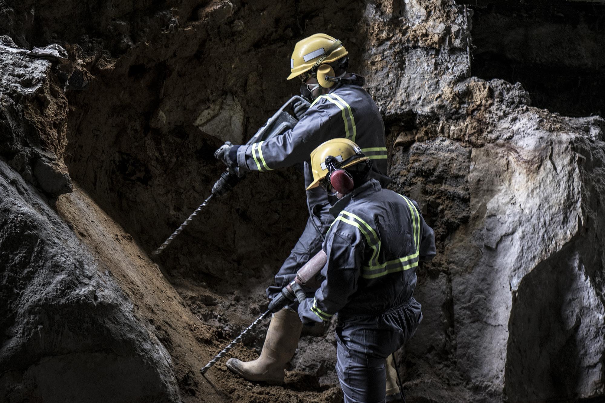 Vibration hazards in mining