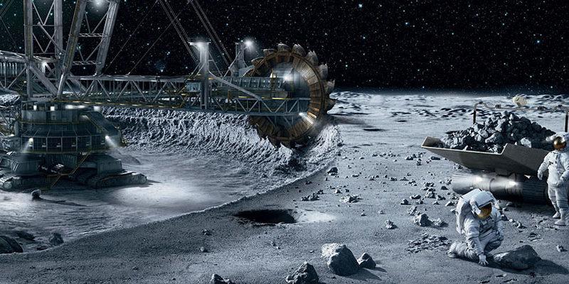 AEM , Dereum y Airbus desarrollarán minería lunar
