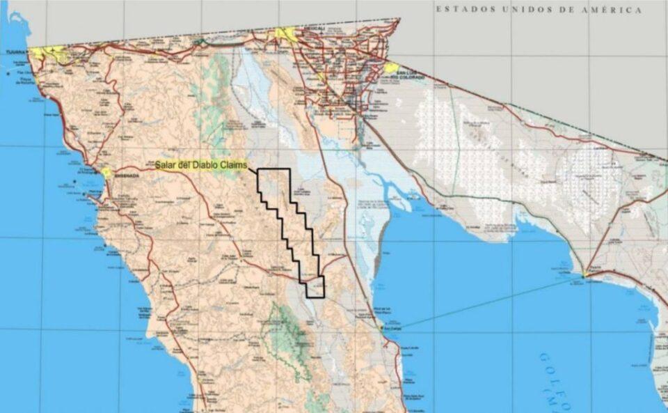 One World Lithium actualizó el programa de perforación en su proyecto de salmuera de litio Salar del Diablo en Baja California.