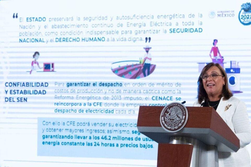 Reforma Eléctrica regulará al litio: Rocío Nahle